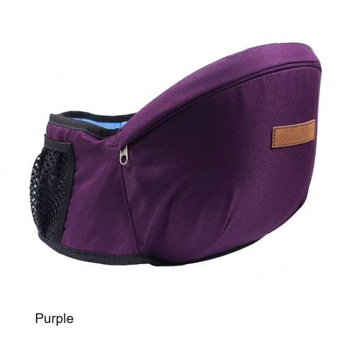 Waistband With baby seat Baby Carrier High Quality Baby Sling Infant Hip seat  Purple