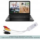 USB2.0 Video TV Tuner DVD Audio Capture Card Converer Adapter for Win7/8