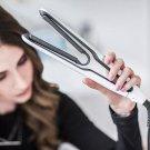 2 In 1 Air Plates Tourmaline Ceramic Straightener Hair Curler Iron Styling Tool  UK Plug