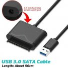 "USB3.0 To SATA 22Pin Adapter Cable For 2.5""/3.5""External HDD SSD Hard Drive Disk"