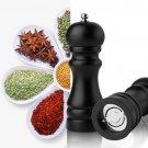 5 Inch Manual Wood Pepper Salt Spice Corn Mill Grinder Home Kitchen Tool