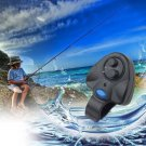Electronic Fish Bite Sound Alarm LED Light Alert Bell Fishing Rod Clip-On