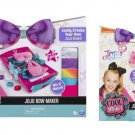 Set of 2 - Cool Maker JoJo Siwa Bow Maker Studio Interactive Playset & Bows Accessory Pack