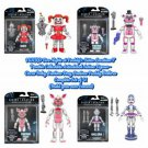 "Set of 4 Funko Five Nights at Freddy's FNAF Sister Location 5"" Articulated Action Figures (Ennard)"