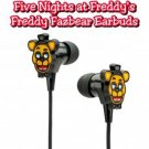ThinkGeek - Five Nights at Freddy's Freddy Fazbear themed In-Ear Earbuds #33573