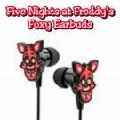 ThinkGeek - Five Nights at Freddy's Foxy themed In-Ear Earbuds #33577