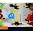 Discovery Kids DK 20 Piece Jumbo Motorized Construction Crane Set - #2907002