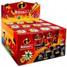 Disney Pixar Incredibles 2 Mini Supers Figures Mystery Blind Box Case of ×24 Packs #74896