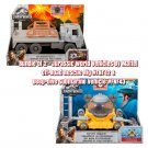 Bundle of 2 Jurassic World Vehicle Off-Road Rescue Rig & Deep-Dive Submarine Vehicle by Mattel