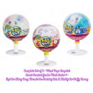 Set of 3 Pikmi Pops Surprise! Jumbo Plush Lollipop (Espi the Dog, Tweezle the Cat, Huddy the Bunny)