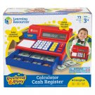 Learning Resources Pretend & Play Calculator 73 Piece Set Cash Register #LER2629