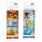 Set of 2 Nano Metalfigs Disney Pixar 5-Pack Figure Collectors Set A & B by JADA Toys