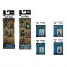 Set of 6 Nano Metalfigs Harry Potter 5-Pack Figure Collectors Set A & B + 4 Figures by JADA Toys