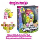Set of 3 Hatchimals Secret Scene Playset (Bubblegum Bloom, Lala Lavender, & Sunshine Sparkle)
