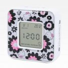 Retired Sanrio Hello Kitty Digital Alarm Clock: Blossom Collection