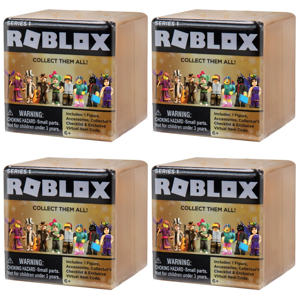 1 single roblox assortment mystery figure box series 4