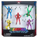 Marvel Legends Deadpool's Rainbow Squad 5-Pack Action Figures by Hasbro #C3989