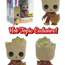 FUNKO Marvel Guardians of the Galaxy Vol. 2 POP! #208 Groot Bobble-Head Figure Hot Topic Exclusive