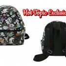 Loungefly tokidoki Mini Black Faux Leather Space Characters Print Backpack Hot Topic Exclusive