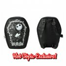 Hot Topic Loungefly Disney Nightmare Before Christmas Jack Skellington Cameo Coffin Backpack