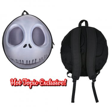 dbf3e7364e Disney Nightmare Before Christmas NBC Jack Skellington Molded Backpack Hot  Topic Exclusive