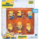 Target Exclusive Despicable Me Minion Poseable 6-Piece Action Figures Set