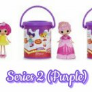 Lalaloopsy Series 2 Minis Doll + Surprise Mystery Blind Paint Cans ×24 Sealed Packs - #548362