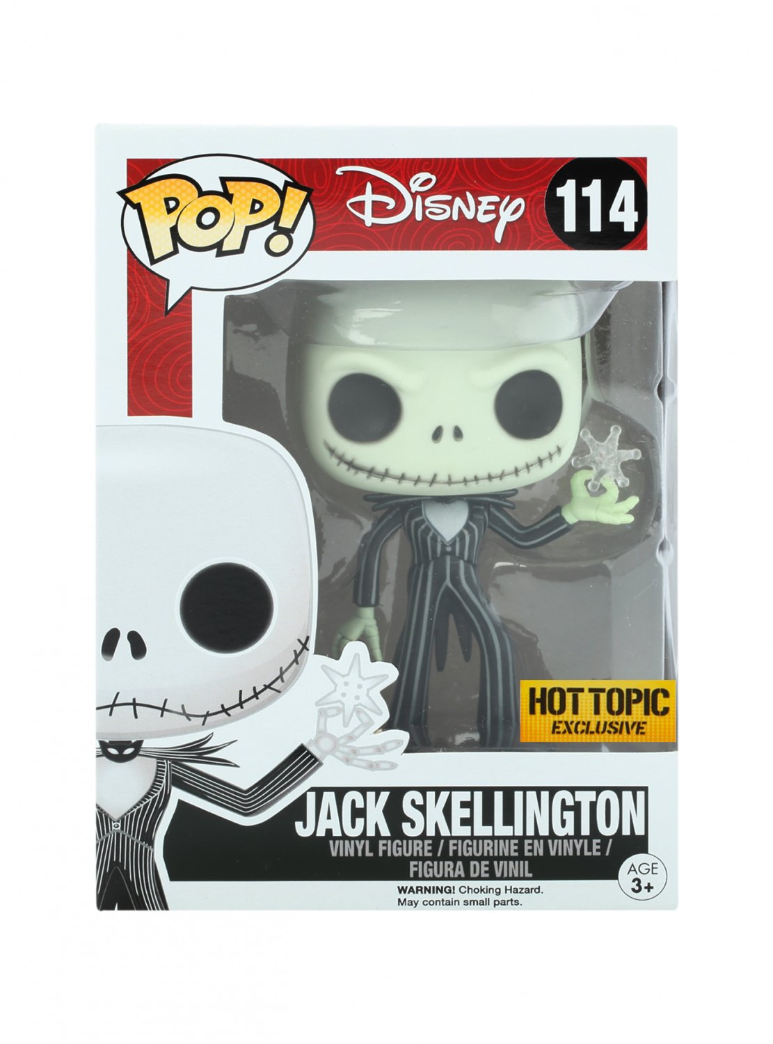 ba1c17b773 Set of 2 Disney Nightmare Before Christmas Jack Skellington   Sally Figures Hot  Topic