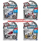 Set of 4 Tech Deck BMX Bikes Series 6 by Spin Master (Sunday, & WeThePeople)