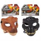 Set of 2 Jurassic World Tyrannosaurus Rex Mask #FLY93 & Villain Dino Indoraptor Mask #FLY94