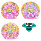 Set of 3 Pikmi Pops Surprise Style Series Mega Pack Coconut, Marshmallow & Frosted Donut