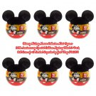 Disney Mickey Mouse Collector Mini Figures 90th Anniversary Surprise 2Pk Case of ×6 Capsules #46071
