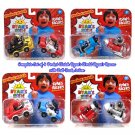 Set of 4 Pocket Watch Ryan's World Ryan's Racers 2-Pk Pull Back Vehicles by Bonkers Toy #706