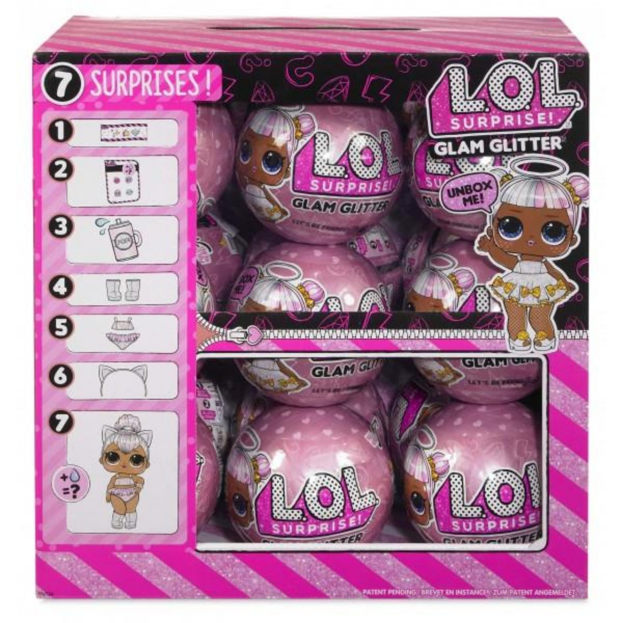 One L.O.L Doll // Ball New Sealed LOL Surprise Glam Glitter Series