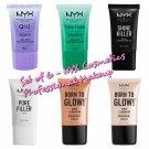 NYX Cosmetics Renew & Balance, Shine Killer, Pore Filler, & Liquid Illuminator (Sunbeam & Gleam)