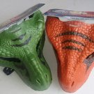Set of 2 Jurassic World Legacy Collection Tyrannosaurus Rex Mask #GJP66 & Velociraptor Mask #GJP67
