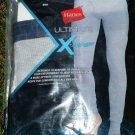 NEW Hanes Men's X-Temp Thermal Pant Size 2XL XXL GREY