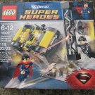 LEGO Superheroes 76002 Superman Metropolis Showdown General ZOD Car distressed