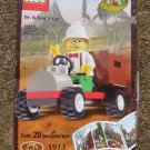 LEGO 5913 Adventurers Dino Island Dr. Kilroy's Car 2000 Minifigs NEW SEALED SET