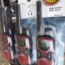 NEW Uniden GMR3040-3CK 30 Mile 22 Channel FRS/GMRS 3x Two-Way Radios +Charger
