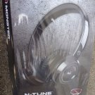 NEW Monster NCredible NTune Headband On-Ear Headphones Black 128450-00