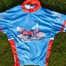 SAN DIEGO finest City Canari cycling jersey Blue Red Bike jersey Small Men Surf