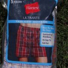 NEW 5 boxers Hanes Men size L Large black white red