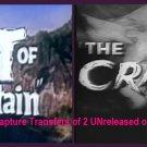 1950s Sci-Fi fun~The Crawling Eye & Beast of Hollow Mountain~2 on 1 DVD w/ArtCase~**READ ENTIRE AD**