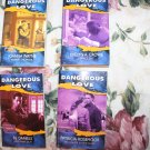Dangerous to Love USA Romance Series Lot of 4 Novels
