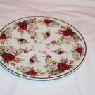 Decorative Plate Victorian Rose Formalities by Baum Bros. Fine Bohemian Porcelain