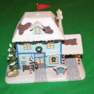 "Hawthorne Village ""Christmas Town Police Station"" 2005 Rudolph's Christmas Town Village Collection"