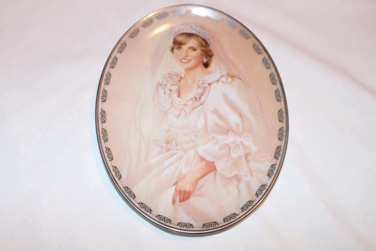 """The People's Princess"" by Jean Monti Collectible Plate The Bradford Exchange"