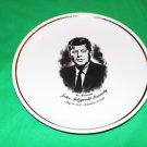 JFK Commemorative Plate