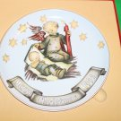 Hummel Collector Christmas Plate, 1990